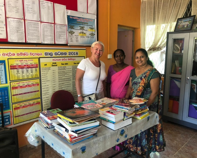 Why ESF CSR Book Donation